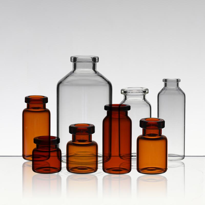 Medium Borosilicate Glass Controlled Injection Bottle